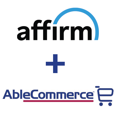Affirm AbleCommerce Integration